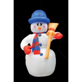 Снеговик световой (1.2 м) NN-511 NN-511-121