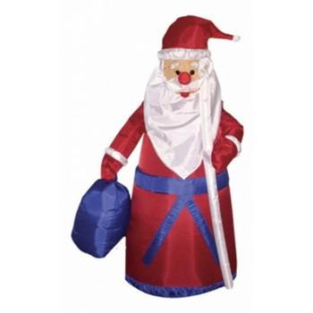 Дед Мороз световой (1.8 м) с подарком NN-511 511-206