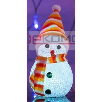 Снеговик световой (17 см) 513-018