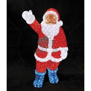 Дед Мороз световой (1.3 м) NN-513 513-182