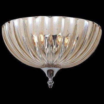 Накладной светильник Newport 6700 6702/А коньячный цвет