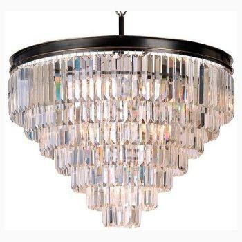 Подвесной светильник Newport 31100 31118/S черный+золотой