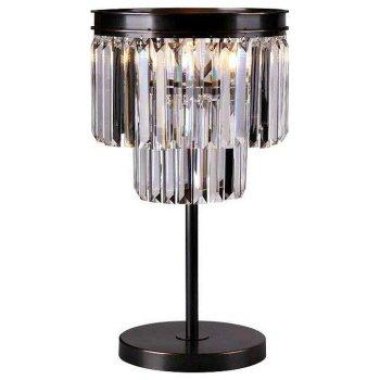Настольная лампа декоративная Newport 31100 31101/T черный+золотой