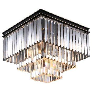 Накладной светильник Newport 31100 31105/PL черный+золотой