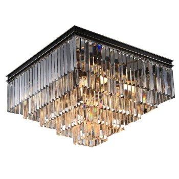 Накладной светильник Newport 31100 31112/PL черный+золотой