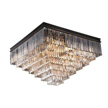 Накладной светильник Newport 31100 31117/PL черный+золотой