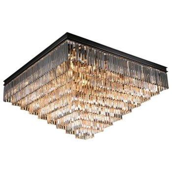 Накладной светильник Newport 31100 31133/PL черный+золотой