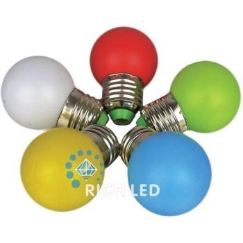 Лампа накаливания RL-BL-E27-G45-RGB