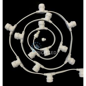 Гирлянда с насадками RL-BL2-50M-125-W