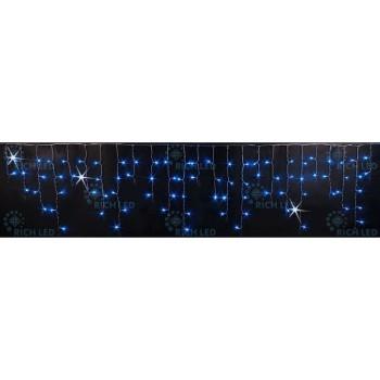 Бахрома световая (3x0.5 м) RL-i3*0.5F-T/BW
