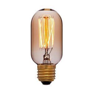 Лампа накаливания E27 40W колба золотая 051-934