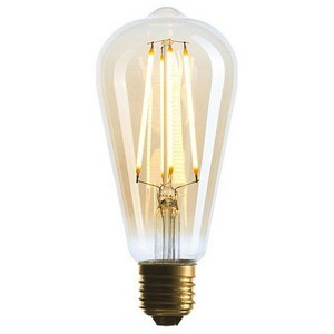 Лампа светодиодная Sun Lumen ST64 E27 4Вт 2200K 057080