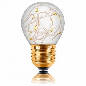 Лампа светодиодная Sun Lumen Starry E27 1Вт 1800K 057219