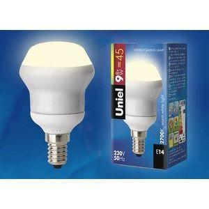 Лампа компактная люминесцентная 796 E14 9Вт В 2700 K матовая