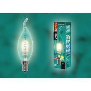 Лампа галогеновая 1079 E14 42Вт 230В  пальчиковая