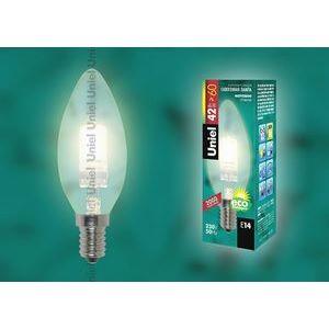 Лампа галогеновая 1088 E14 42Вт 230В  свеча матовая