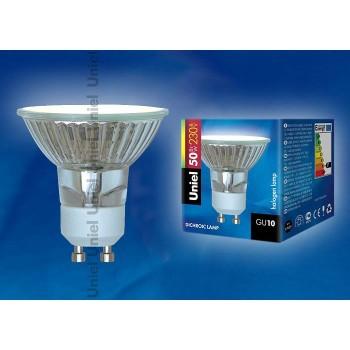 Лампа галогеновая JCDR-50/GU10 картон 1094
