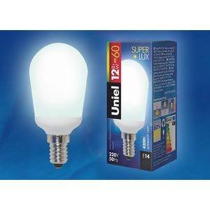 Лампа компактная люминесцентная 1222 E14 12Вт 220В 4200 K груша круглая