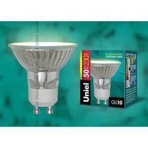 Лампа галогеновая JCDR-X50/GU10 картон 1293