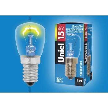 Лампа накаливания 1854 E14 15Вт 230В  конусная