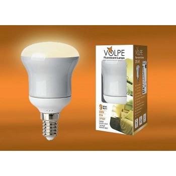 Лампа компактная люминесцентная 2979 E14 9Вт В 2700 K груша плоская матовая