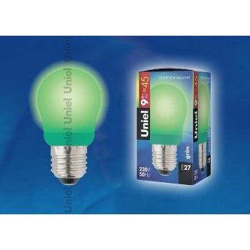 Лампа компактная люминесцентная 3039 E27 9Вт В  сферическая