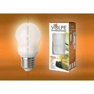 Лампа компактная люминесцентная 3644 E27 11Вт В 2700 K груша круглая матовая