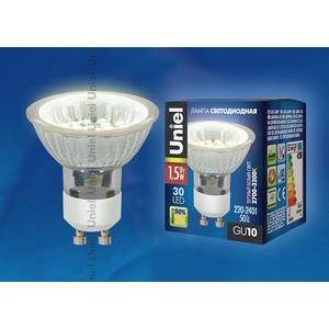 Лампа светодиодная 4009 GU10 Вт В  полусферическая с рефлектором