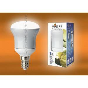 Лампа компактная люминесцентная 4282 E14 9Вт В 4200 K груша плоская матовая с рефлектором