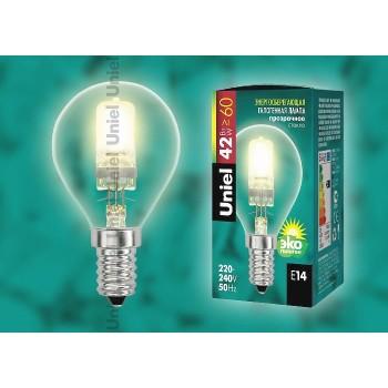 Лампа галогеновая 5215 E14 42Вт 230В  сферическая