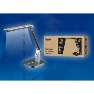 Настольная лампа офисная TLD-502 Silver/LED/546Lm/5000K/Dimer 5650
