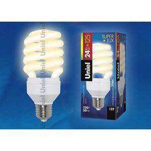 Лампа компактная люминесцентная 5998 E27 24Вт В 2700 K винтовая трубка