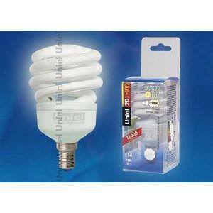 Лампа компактная люминесцентная 6573 E14 20Вт В 2700 K винтовая трубка