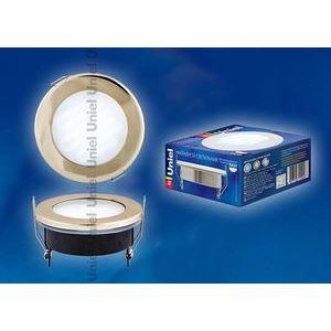 Встраиваемый светильник GX53-9/4000/H5 GOLD IP54 6692