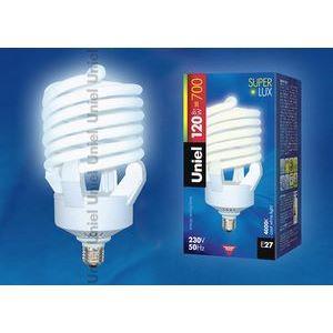 Лампа компактная люминесцентная 7179 E27 120Вт В 4000 K винтовая трубка