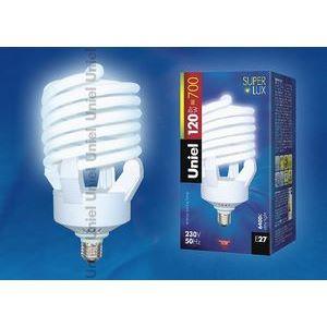 Лампа компактная люминесцентная 7180 E27 120Вт В 6400 K винтовая трубка