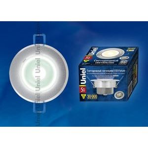 Встраиваемый светильник ULM-R31-5W/NW IP20 Sand Silver картон 7621
