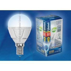 Лампа светодиодная 7903 E14 6Вт 175-265В 4500 K груша круглая матовая