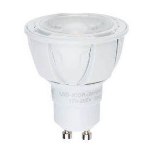 Лампа светодиодная GU10 220В 6Вт 4500K LEDJCDR6WNWGU10FR38DALP01