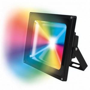 Светильник на штанге Uniel ULF-S01 ULF-S01-50W/RGB/RC IP65 110-240В картон