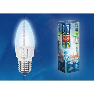 Лампа светодиодная 8689 E27 6Вт 40-250В 4500 K свеча матовая