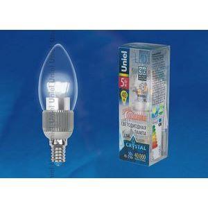 Лампа светодиодная 8746 E14 5Вт 40-250В 4500 K свеча