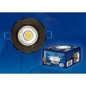 Встраиваемый светильник ULM-R31-3W/NW IP20 BLACK CHROME картон 8782