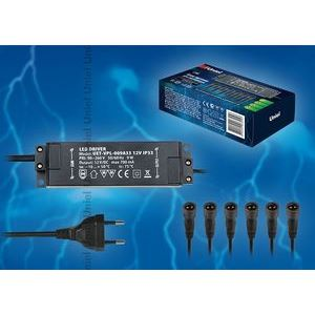 Блок защиты UET-VPL-009А33 12V IP33 6 выходов 8939