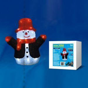 Снеговик световой (29 см) ULD 09557
