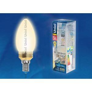 Лампа светодиодная 10058 E14 5Вт В 3000 K свеча