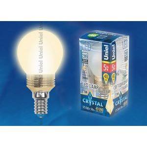 Лампа светодиодная 10062 E14 5Вт В 3000 K сферическая