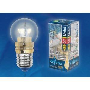 Лампа светодиодная 10063 E27 5Вт В 3000 K сферическая
