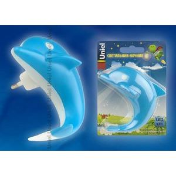 Ночник DTL-301-Дельфин/Blue/4LED/0,5W 10313