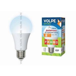 Лампа светодиодная 10695 E27 8Вт 220-240В 4500 K груша круглая матовая